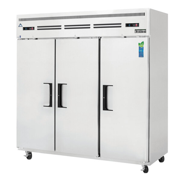 Everest Refrigeration ESRF3 Reach-In Refrigerator/Freezer Combo