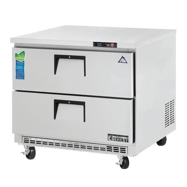 Everest Refrigeration Refrigeration ETBSR2-D2 Drawered Undercounter/Worktop Refrigerator
