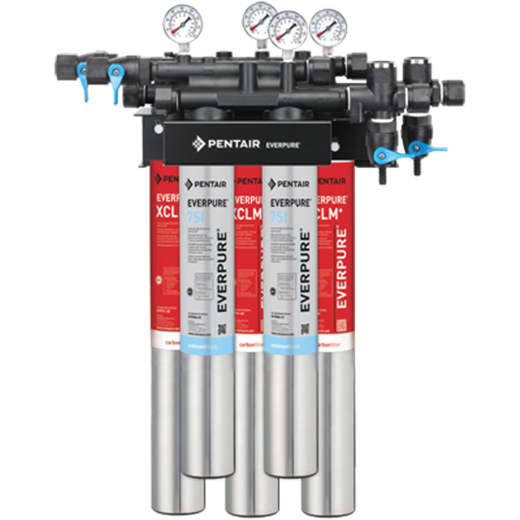 Everpure EV9278-42 QC7I DIO-XCLM+/7SI Water Filtration System