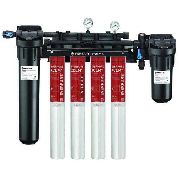 Everpure EV976134 High Flow CSR Quad-XCLM Fountain Filtration