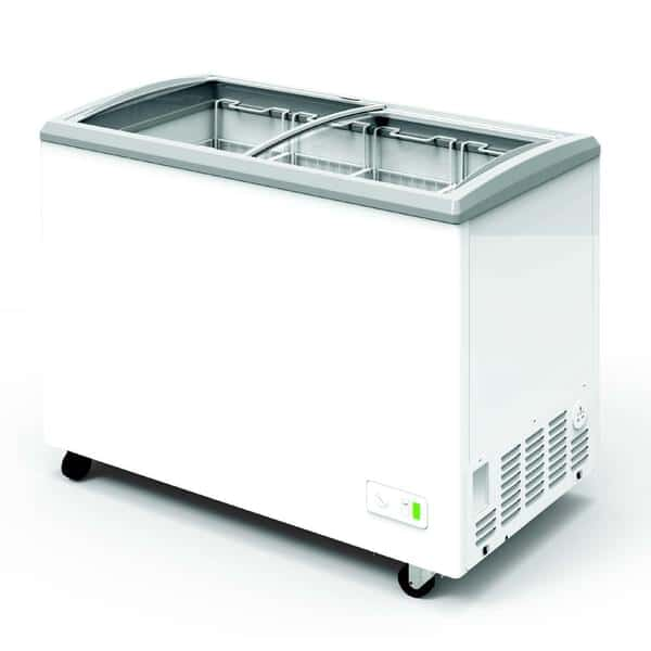 Excellence Commercial Products VBN-4D Narrow Chest Refrigerator/Freezer