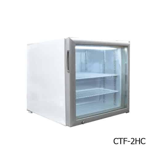 Excellence Excellence CTF-2HCMS Countertop Display Merchandiser Freezer/Ice Cream Freezer