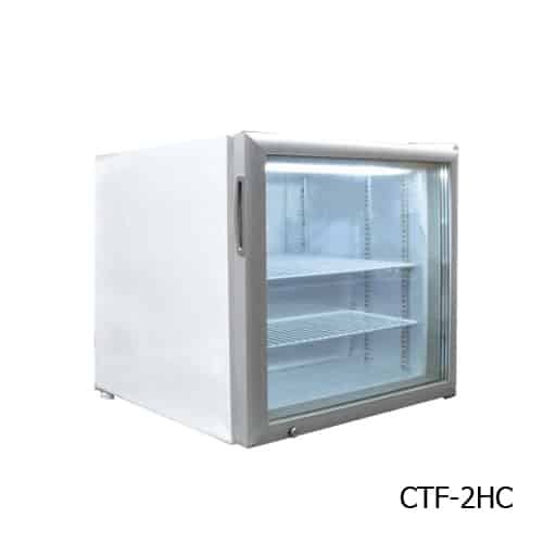 Excellence CTF-4HCMS Countertop Display Merchandiser Freezer/Ice Cream Freezer
