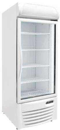Excellence GDF-22 Upright Glass Door Compact Freezer
