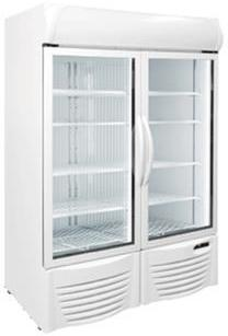 Excellence GDF-44 Upright Glass Door Compact Freezer