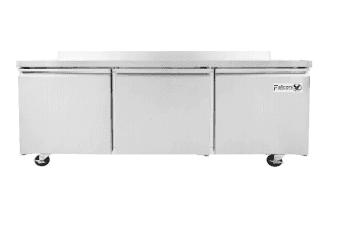 "Falcon Falcon AST-72 sandwich prep table 18 pan 72""(w) x 31""(d) x 42""(h) 3 door"