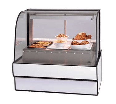 Federal Industries CG7748HD Curved Glass Hot Deli Case