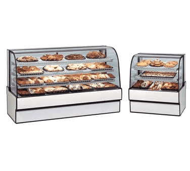 Federal Industries CGD5048 Curved Glass Non-Refrigerated Bakery Case