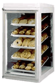 Federal Industries CK-10 Counter Top Half Pan Non-Refrigerated Self-Serve Bakery Display