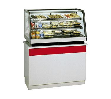 Federal Industries CRR4828 Counter Top Refrigerated Rear Mount Merchandiser