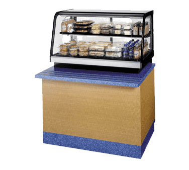 Federal Industries CRR3628SS Counter Top Refrigerated Self-Serve Rear Mount Merchandiser