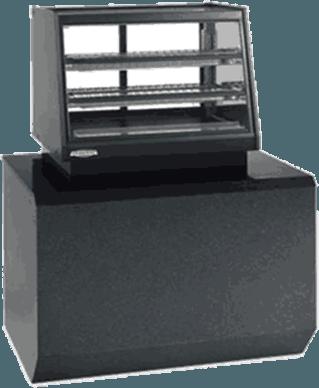 Federal Industries ERR-4828SS Elements Counter Top Self-Serve Refrigerated Rear Mount Merchandiser