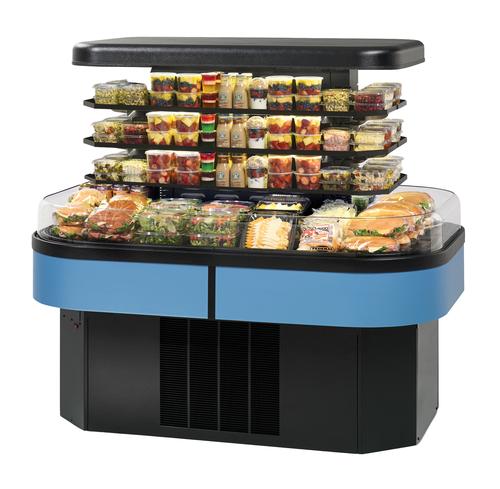 Federal Industries IMSS60SC-3 Specialty Display Island Self-Serve Refrigerated Merchandiser