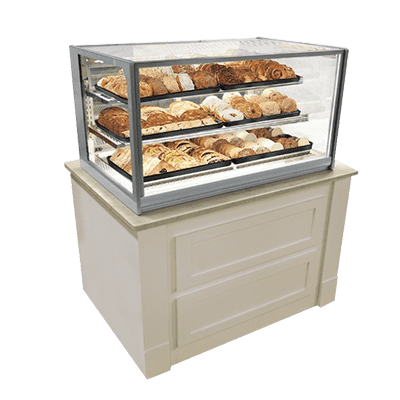 Federal Industries ITD3626 Italian Glass Non Refrigerated Display Case