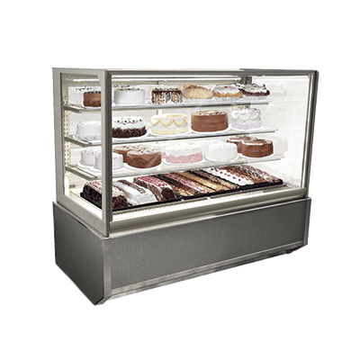 Federal Industries ITR6034-B18 Italian Glass Refrigerated Display Case