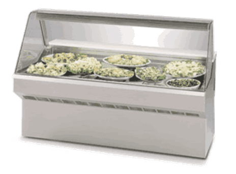 Federal Industries SQ-5CD Market Series Refrigerated Deli Case