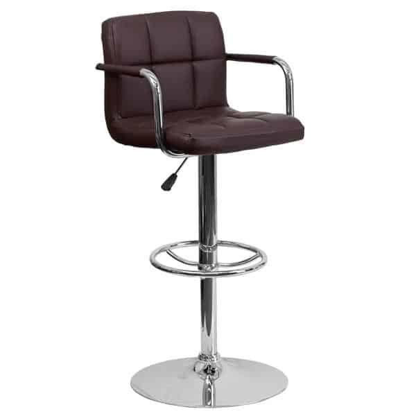 Flash Furniture CH-102029-BRN-GG Swivel Bar Stool