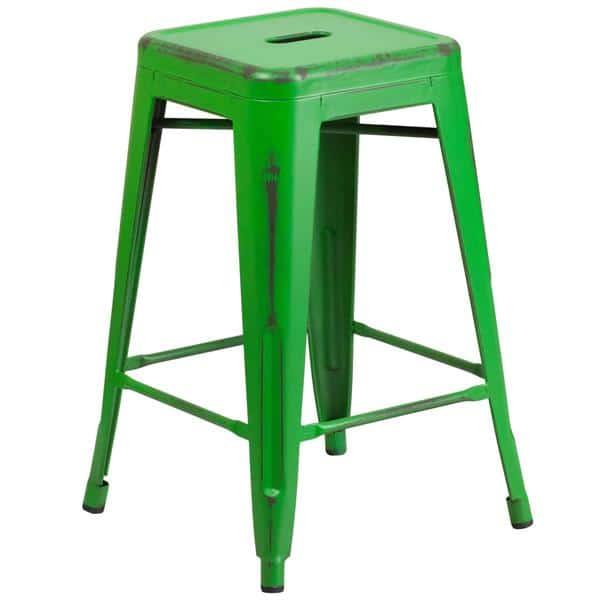 Flash Furniture ET-BT3503-24-GN-GG Bar Stool