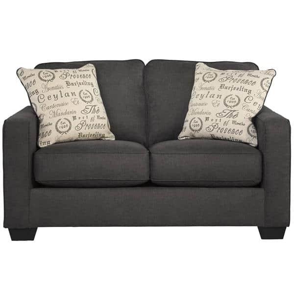 Flash Furniture FSD-1669LS-CH-GG Alenya Loveseat