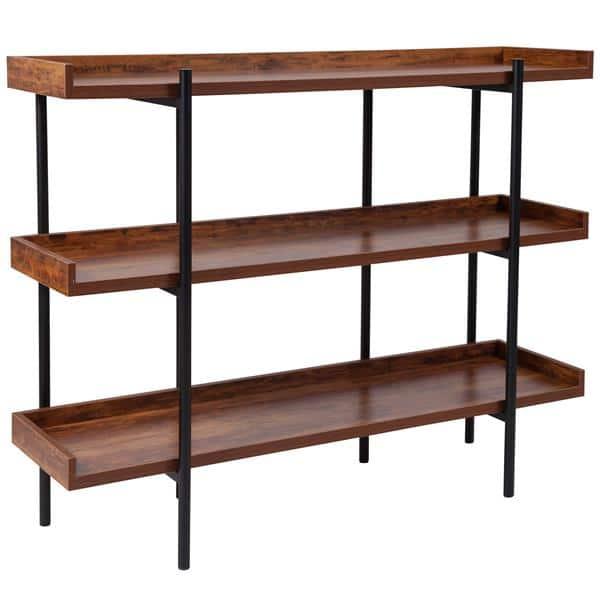 Flash Furniture JN-2542B3-GG Mayfair Storage Shelf