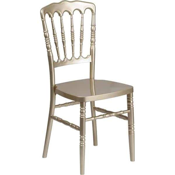 Flash Furniture LE-L-MON-GD-GG Hercules Series Stacking Napoleon Chair