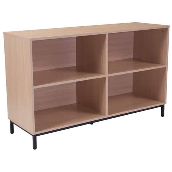 Flash Furniture NAN-JH-1764-GG Dudley Bookshelf