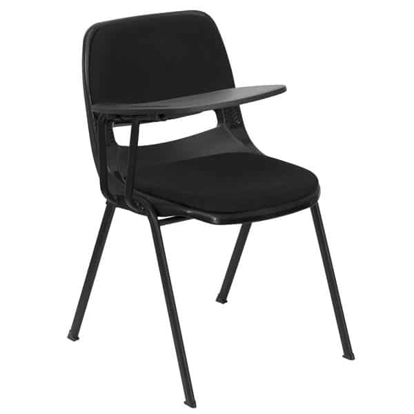 Flash Furniture RUT-EO1-01-PAD-RTAB-GG Hercules Series Ergonomic Shell Chair
