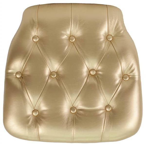 Flash Furniture SZ-TUFT-GOLD-GG Chair Cushion