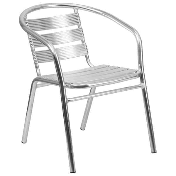 Flash Furniture TLH-1-GG Heavy Duty Restaurant Stacking Armchair