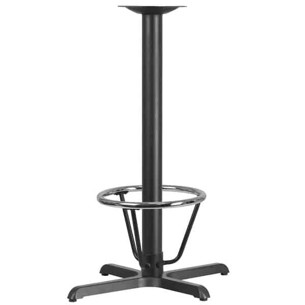 Flash Furniture XU-T2230-BAR-3CFR-GG Table Base