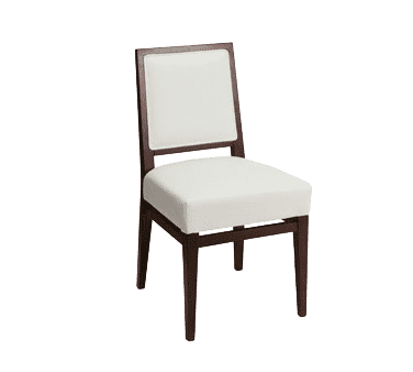 Florida Seating CN-672S COM Side Chair. upholstered back & seat