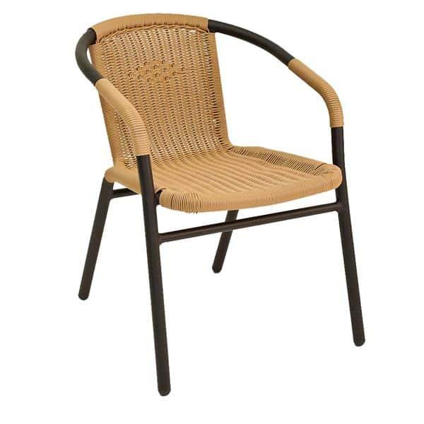Florida Seating W-21 BLACK Arm Chair