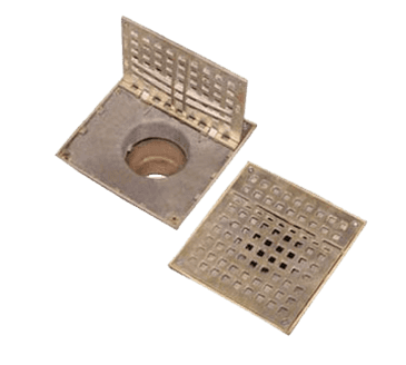 """FMP 102-1135 Franklin Hinged Floor Drain Grate For 7-3/8"""" square Smith floor drains"""