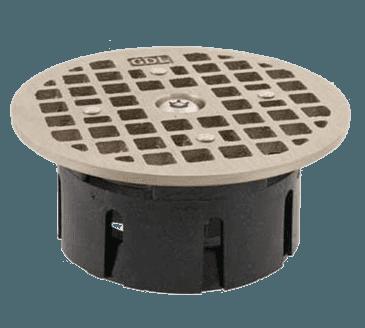 "FMP 102-1171 Guardian Drain-Lock Grate For 3-1/2"" ID Smith floor drain housing"