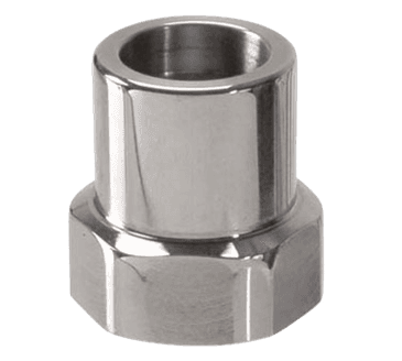 """FMP 113-1136 Faucet Spout Adaptor by Fisher Fisher spout thread female inlet to 3/8"""" NPT female outlet"""