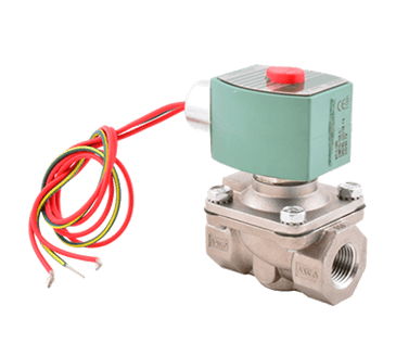 "FMP 117-1405 Asco Hot Water-Rated Solenoid Valve 1/2"" NPT inlet and outlet  normally closed"