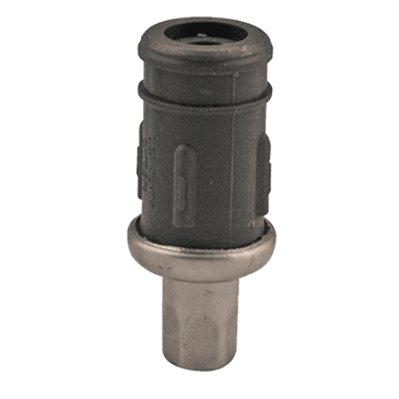 """FMP 119-1097 Gray Plastic with Stainless Steel Bullet Foot For 1-1/2"""" OD round tubing"""