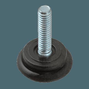 "FMP 121-1007 Plastic 1"" Base Glide 1/4-20 thread"