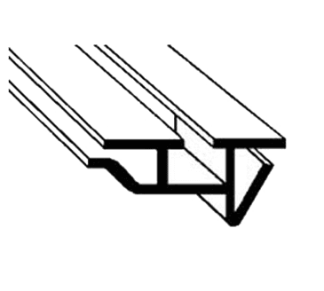 FMP 124-1018 Snap-In Gasket Retainer Strip 6' length