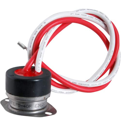 FMP 124-1360 Defrost Termination Control Opens at 75*F  closes at 40*F