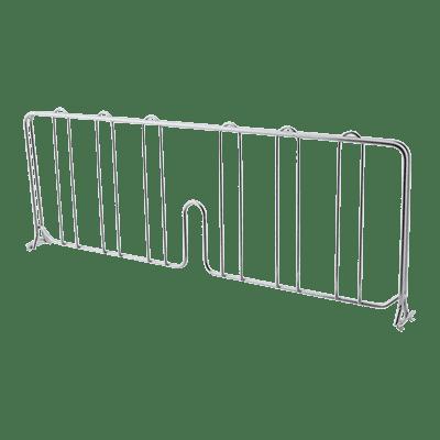 "FMP 126-1605 Metro® Super Erecta® Shelf Divider,  18"" x 8"" H,  chrome-plated steel"