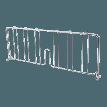 "FMP 126-1605 Super Erecta Series Wire Shelf Divider by Metro 18"" wide"