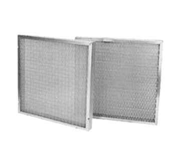 "FMP 129-1009 2"" Mesh Grease Filter Galvanized steel frame 20"" H x 20"" W"