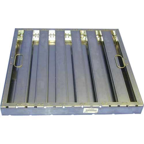FMP 129-2136 FILTER BAFFLE(25X20 S/S W/HNDL