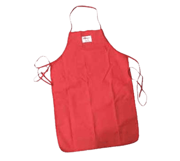 """FMP 133-1250 Apron by Tucker Safety Products Poly-cotton fabric with VaporGuard 36"""" long"""