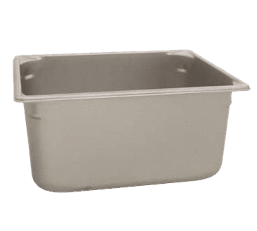 "FMP 133-1542 Super Pan V Steam Table Pan by Vollrath Half-size  6"" deep"