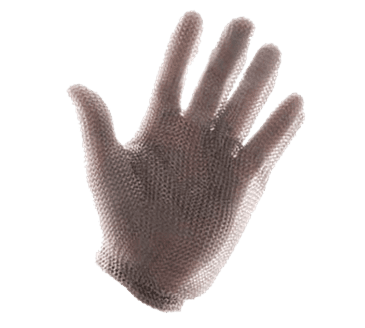 FMP 133-1568 Whizard Safety Gloves by Tucker Safety Products X-large  stainless steel mesh