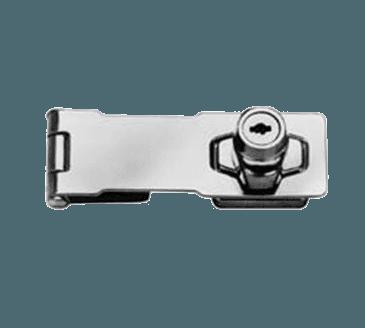 FMP 134-1025 Locking Hasp Chrome-plated steel