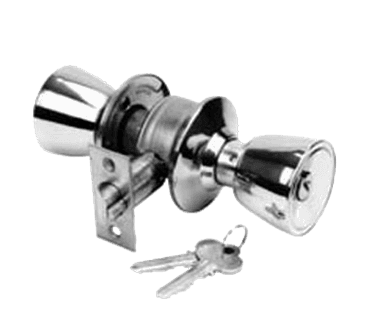 134 1098 Commercial Duty Entry Door Lockset Stainless Steel