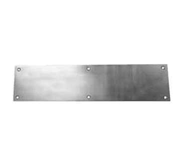 FMP 134-1100 Door Kick Plate Polished solid brass